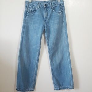 Helmut Lang Raw Edge Flare Jeans